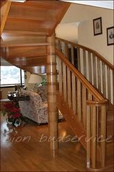 Деревянные лестницы на тетивах. Изготовлени,  продажа в Харькове - foto 3