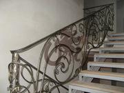 Ограждения лестниц кованые - foto 0