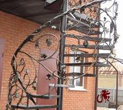 Ограждения лестниц кованые - foto 1