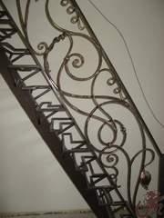 Ограждения лестниц кованые - foto 3