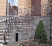 Ограждения лестниц кованые - foto 4