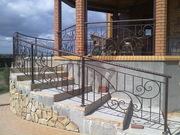 Ограждения лестниц кованые - foto 5