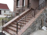 Ограждения лестниц кованые - foto 7