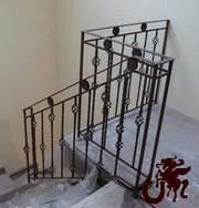 Ограждения лестниц кованые - foto 8