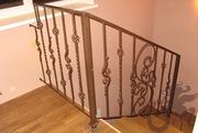 Ограждения лестниц кованые - foto 9