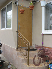 Ограждения лестниц кованые - foto 10