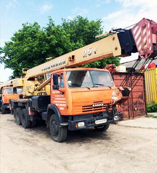 Услуги автокрана в Харьков - 10,  14,  25,  35,  50 тонн - main