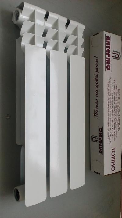 Продам радиатор биметаллический  Алтермо Торино 500*78 (Полтава) - main