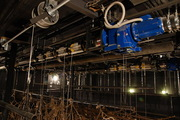 Металлоконструкции и механизмы для сцены театров.