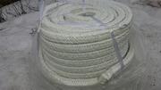 Асбо-стекловолоконный  квадратный  шнур  для котлов  - foto 1