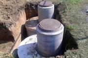 Копка сливных ям под ЖБИ кольца,  сооружение септиков – Строим Харьков
