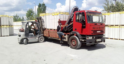 Кран-манипулятор грузовой,  доставка грузов,  стройматериалов. - main
