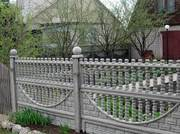 Еврозабор,  блок,  шлакоблок,  плитка тротуарная,  ворота,  кольца ж/б - foto 4