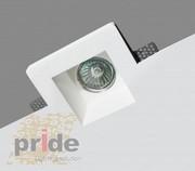 Точечные светильники гипсовые производства ТМ Pride из серии светильни - foto 0