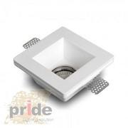 Точечные светильники гипсовые производства ТМ Pride из серии светильни - foto 2