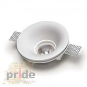 Точечные светильники гипсовые производства ТМ Pride из серии светильни - foto 6