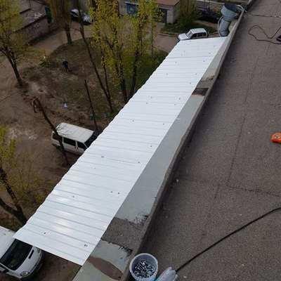 Ремонт козырька и крыши балкона - main
